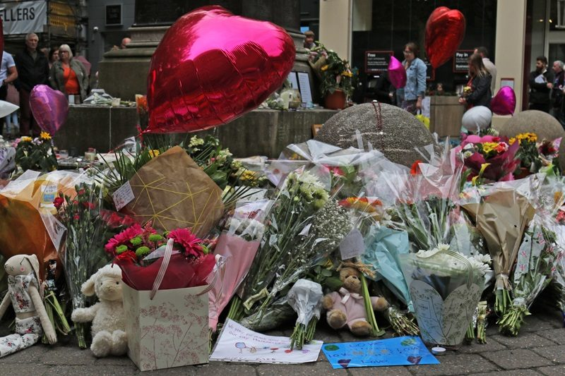 Tributes to victims of Manchester Attack 2017