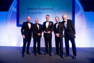 WINNER: Mobility Programme - New Zealand Police presented by James Slessor, Accenture Global Public Safety Managing Director and aided by BBC broadcaster Jeremy Vine.