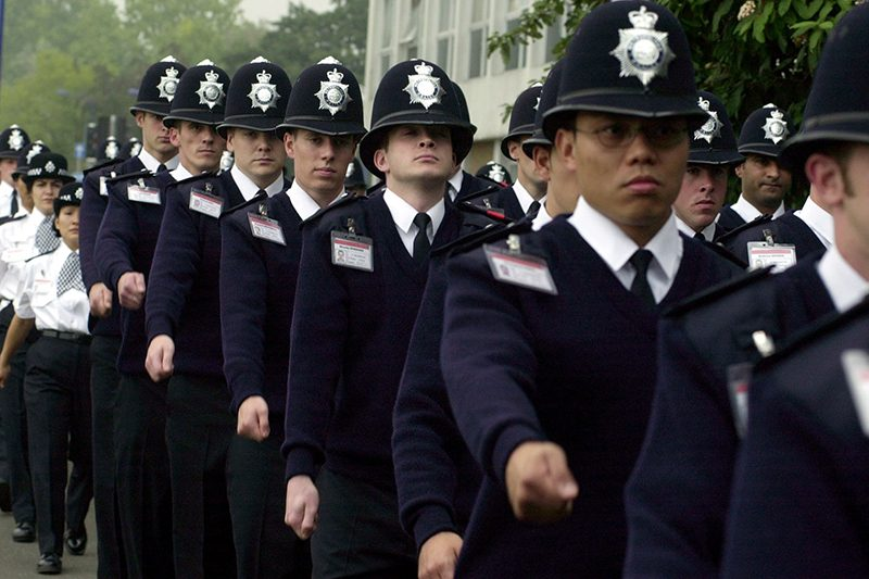 Metropolitan Police Training and Driving School Recruits