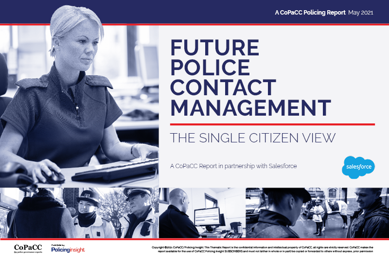 Future Police Contact Management The Single Citizen View
