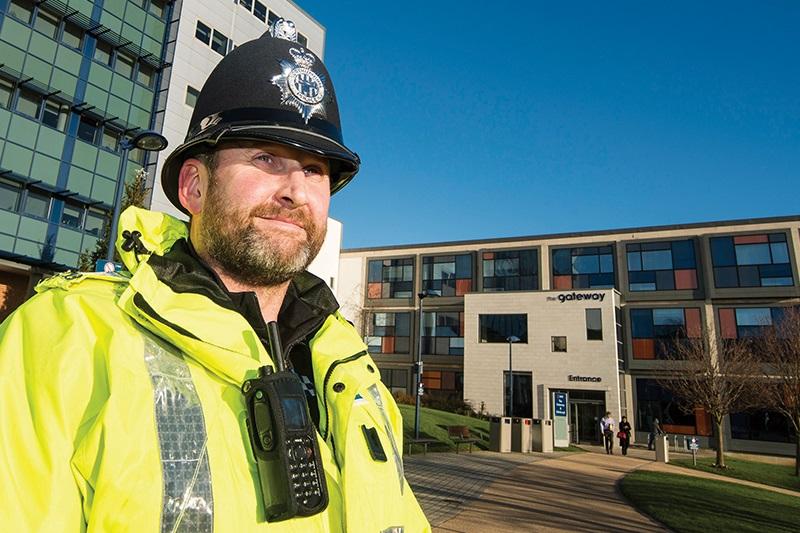 Uni Sunderland Policing Pic
